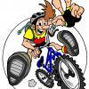 Logo gemini bikers couleurs